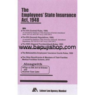 ESIC bare act book