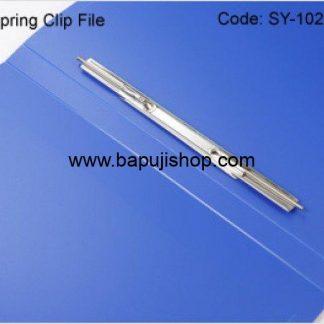 File clip for spring file