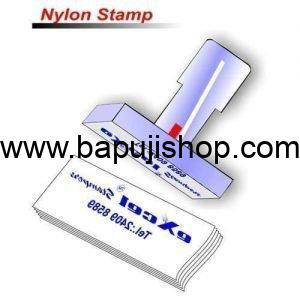 Rubber stamps nylon order