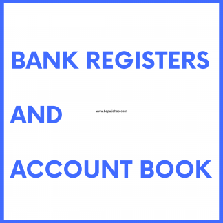 Bank Register book