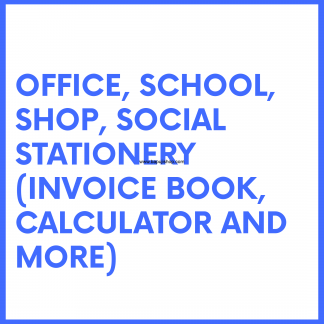Stationery For Office, School, Shop and Social