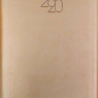 New Year Diary Number 808 Rs.540 Orange brown Anupam 1