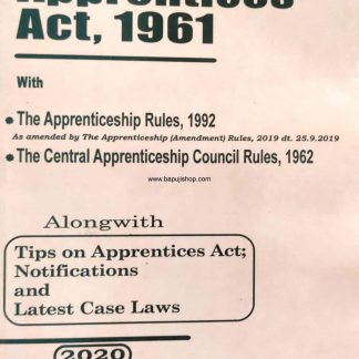 Apprentices Act bare act